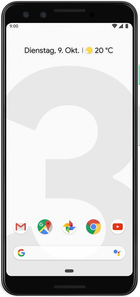Scheda tecnica Google Pixel 3