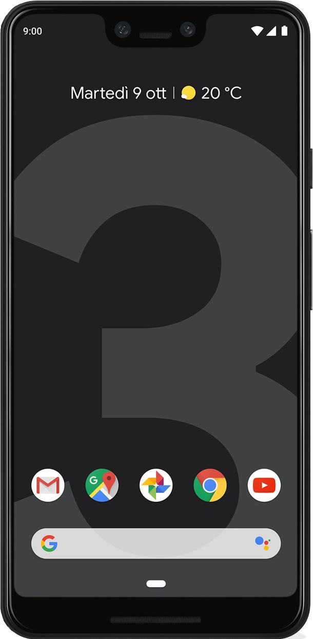 Scheda tecnica Google Pixel 3 XL