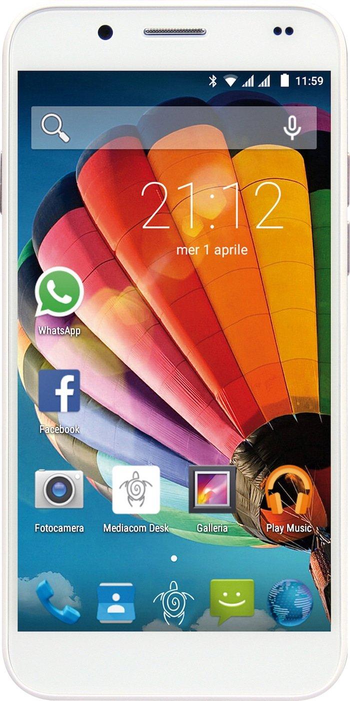 Scheda tecnica Mediacom PhonePad Duo G512