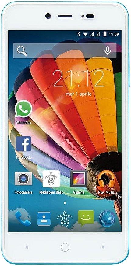 Scheda tecnica Mediacom PhonePad Duo G515