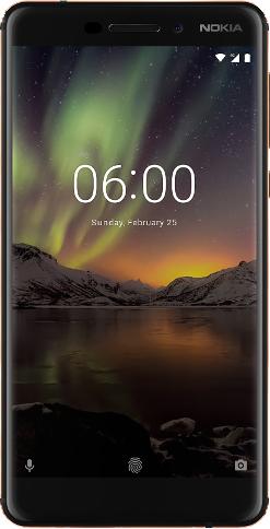 Scheda tecnica Nokia 6.1