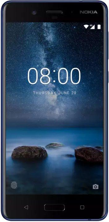Scheda tecnica Nokia 8