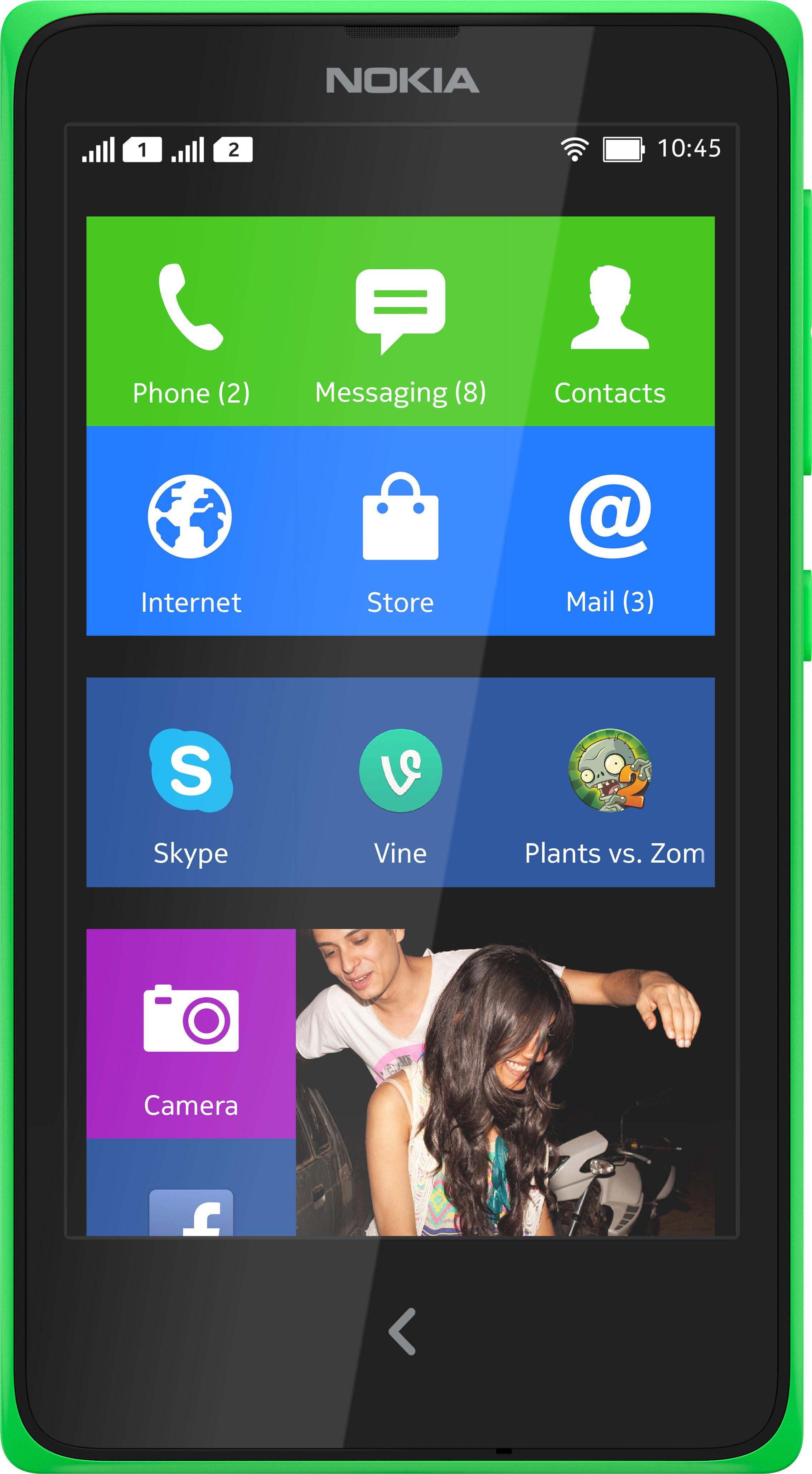 Scheda tecnica Nokia X+