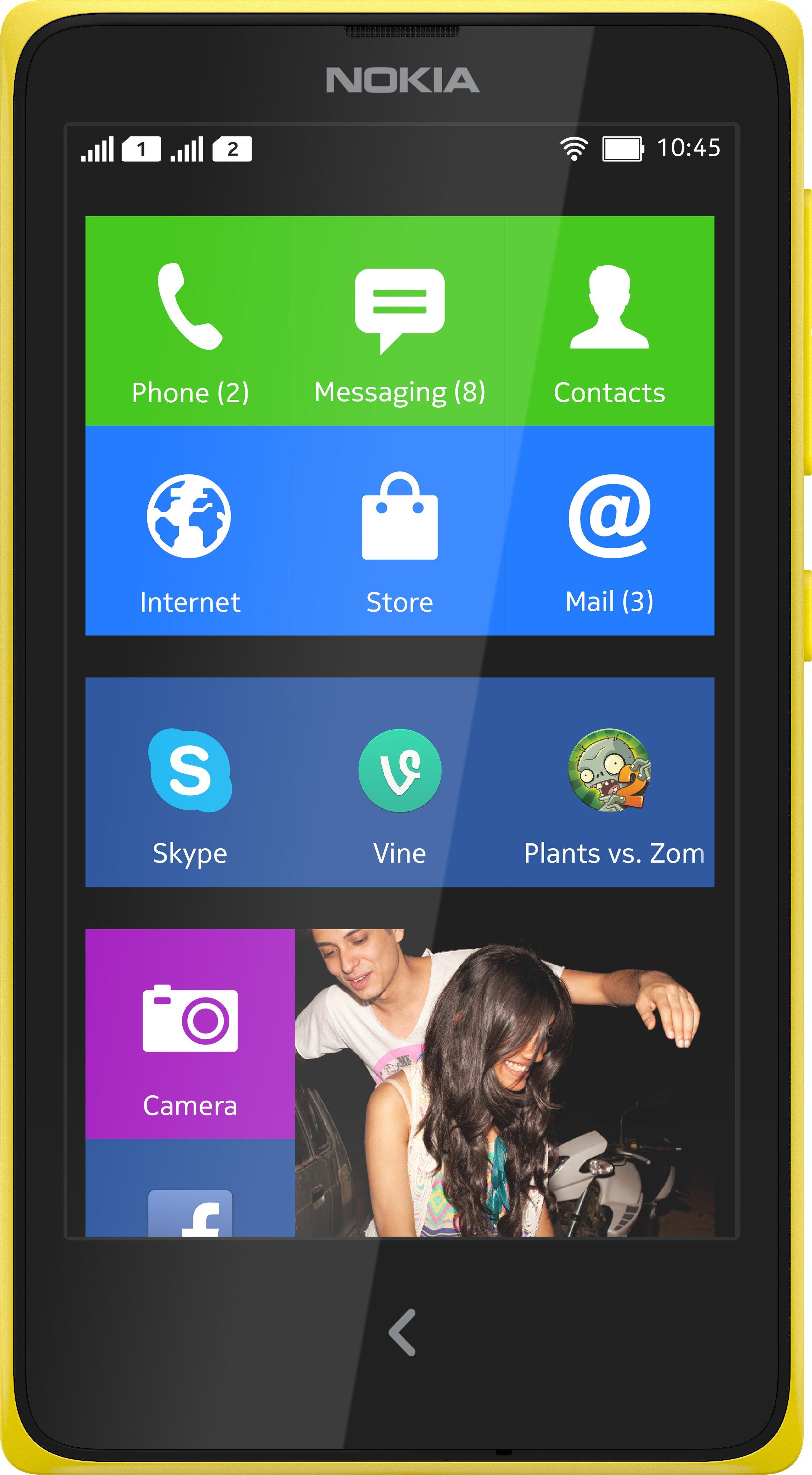 Scheda tecnica Nokia X