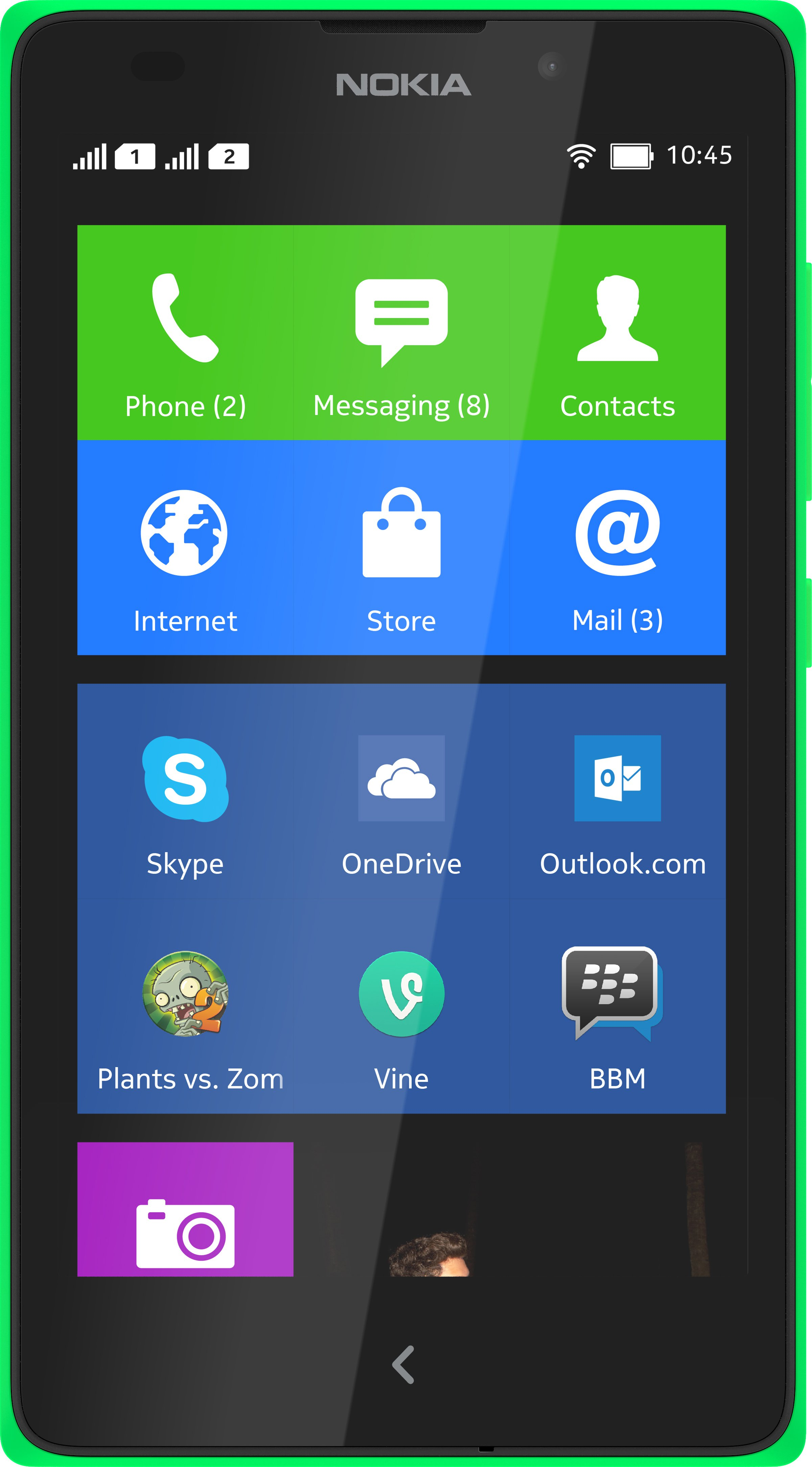 Scheda tecnica Nokia XL