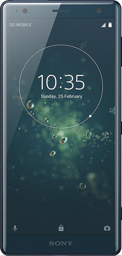 Scheda tecnica Sony Xperia XZ2