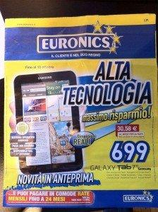 Galaxy tab euronics