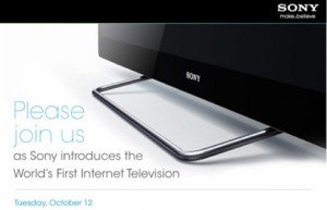 Sony google tv announcement date 0