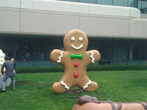 Gingerbread man android google