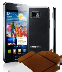 Galaxy s 2 ics