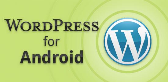 wordpress update android