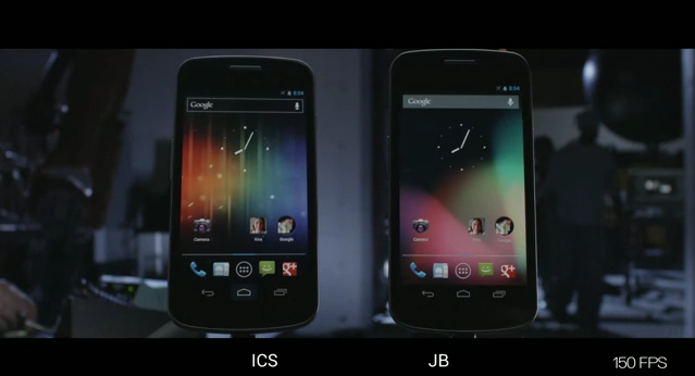 Galaxy nexus jb vs ics