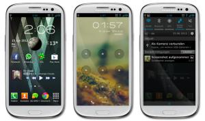 Galaxy s3 theme