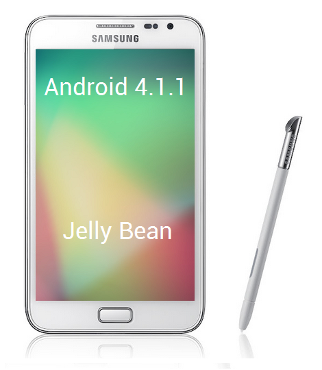 galaxy note cm 10 jelly bean