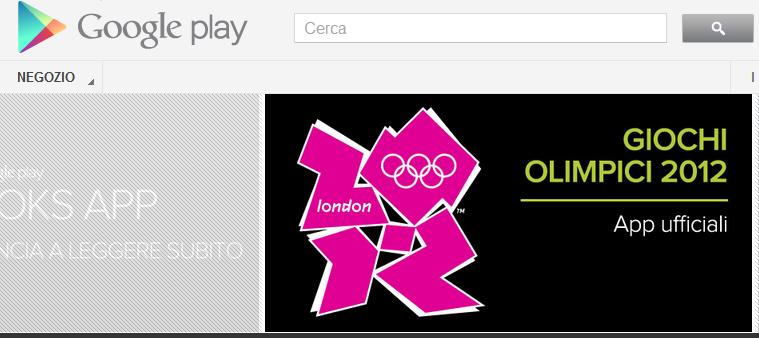 google play store olimpiadi