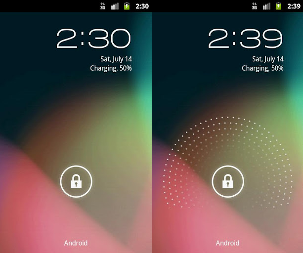 holo locker android