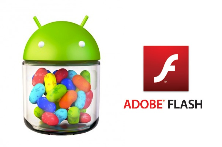 jelly bean flash player