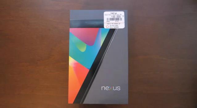 nexus 7 video unboxing divertente