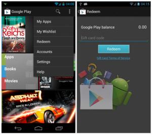 Google Play Gift Cards Wishlist 3.8.15
