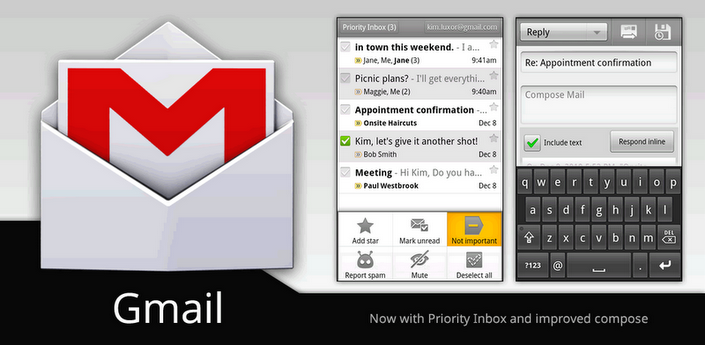 gmail per android download