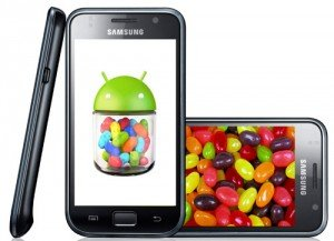 Samsung galaxy s android jelly bean