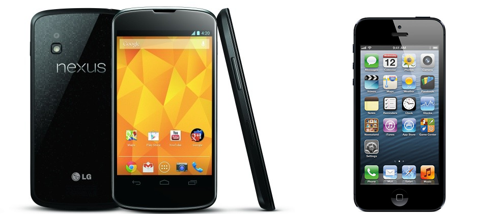Nexus 4 vs iphone 5