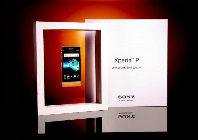 Xperia-P-Gold-Edition