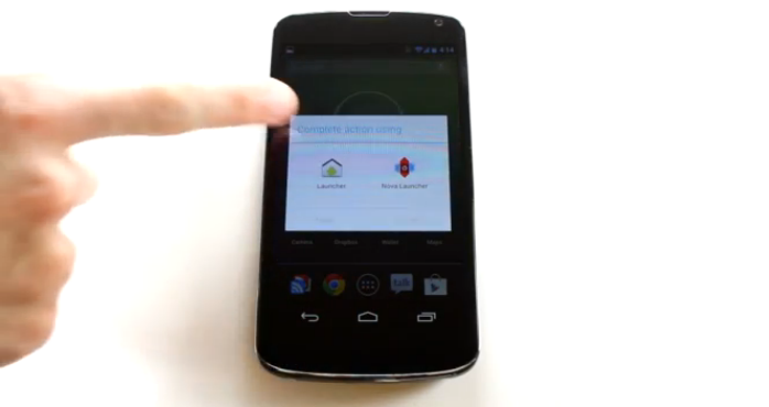 android 4.2 selettore app