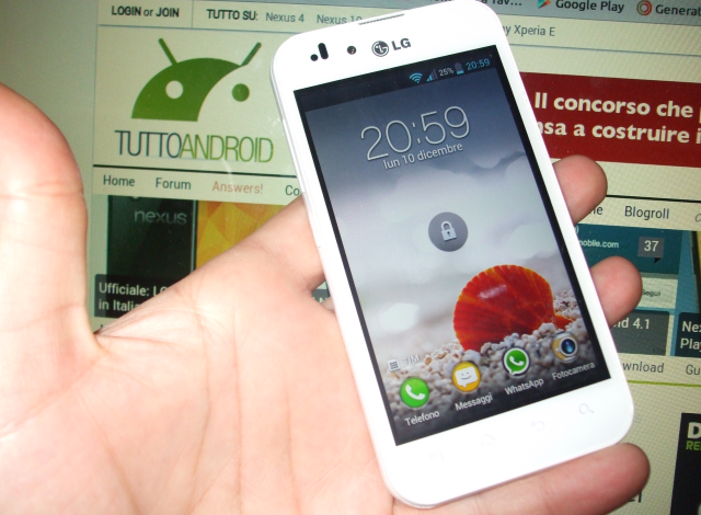 LG Optimus Black ICS