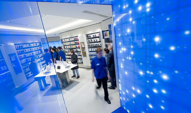 Samsung mobile store parigi