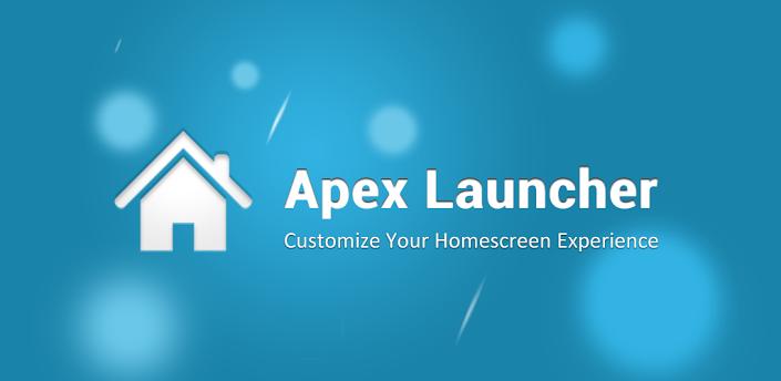 apex launcher aggiornamento 1.4