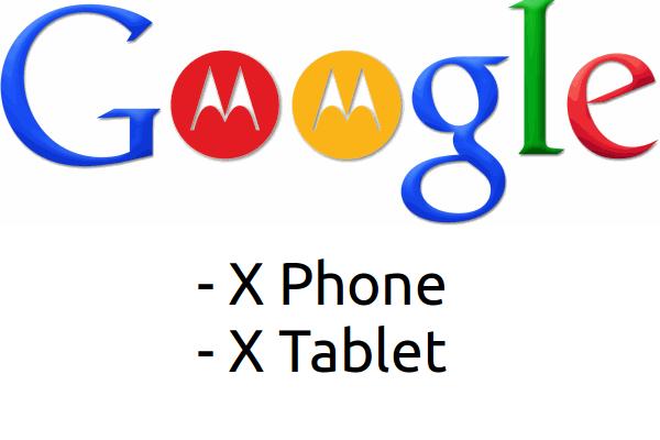 tuttoandroid google motorola x phone x tablet