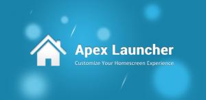 Apex launcher aggiornamento