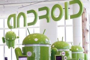 Google android mascots