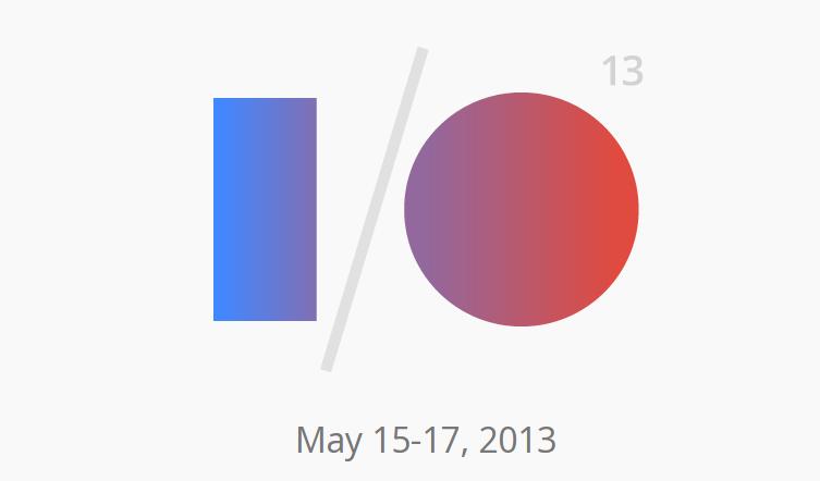 Google I⁄O 2013