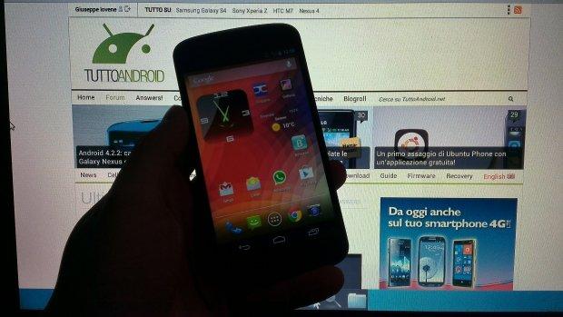 Nexus 4 Android 4.2.2