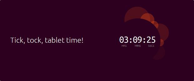 Ubuntu-tablet-countdown