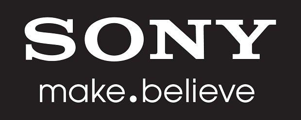 Sony make.believe logo - white