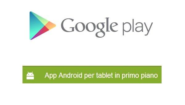 google play app tablet