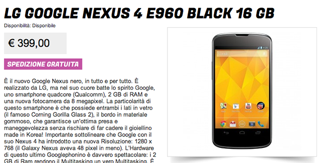 nexus-4-399-stockisti