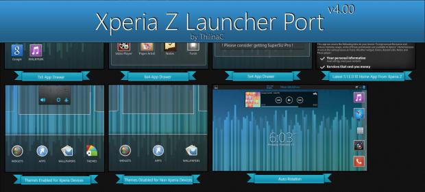 launcher xperia z