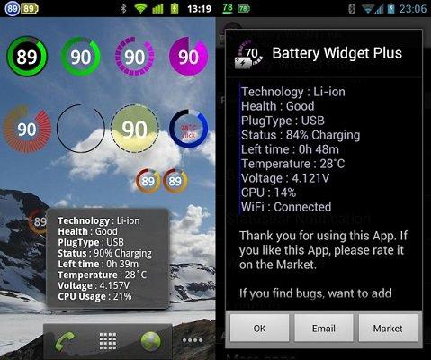 Battery Widget