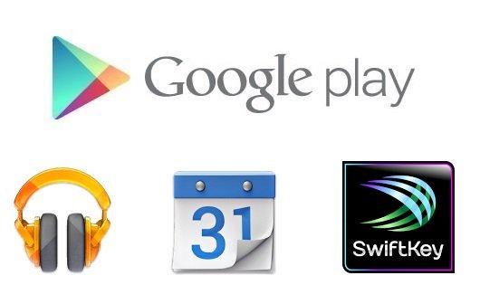 Google Play Music, Calendar e SwiftKey si aggiornano nel Play Store