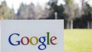 Google sign HQ