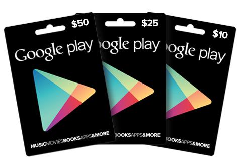 Google Play Gift Cards in arrivo a breve in Italia?