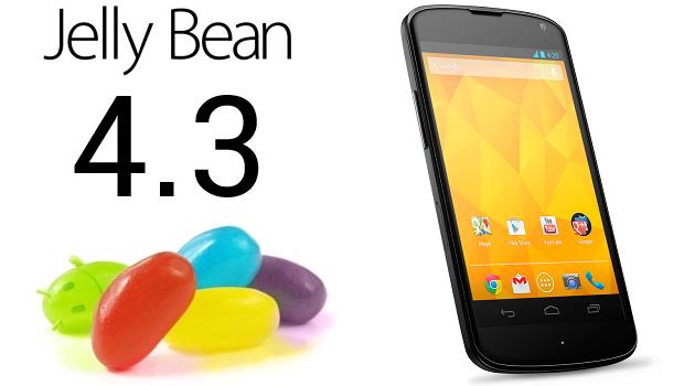 nexus 4 android 4.3