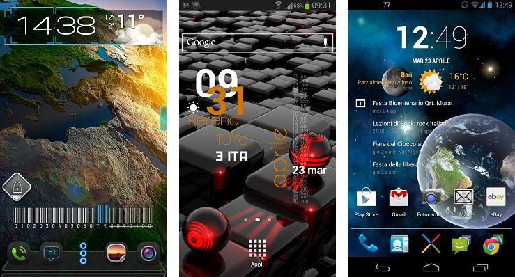personalizzazione home android 1