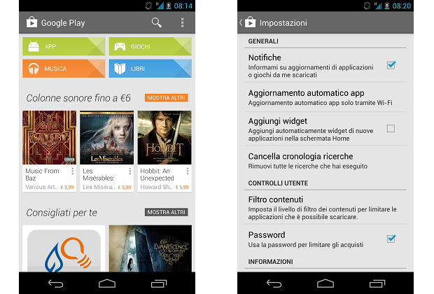 play store 4.1.6 tuttoandroid