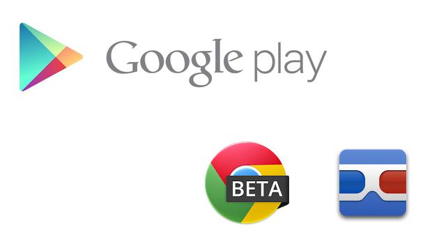 play store goggles chrome beta