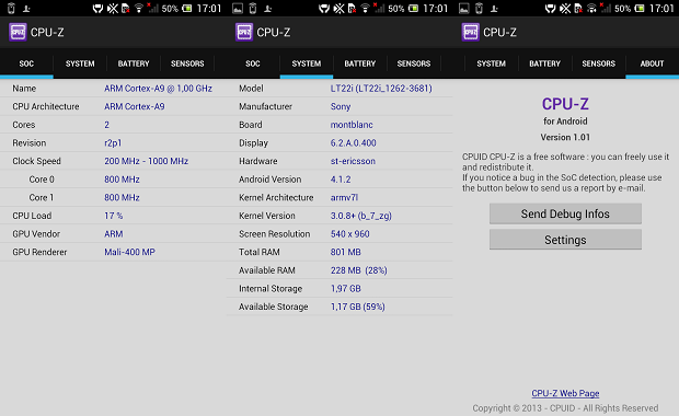 CPU-Z Android
